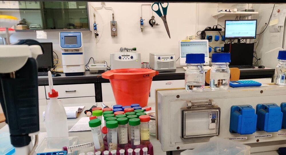 Laboratorio del IBF del CNR di Milano