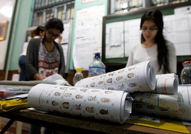 Elezioni in Ecuador, immagini di repertorio