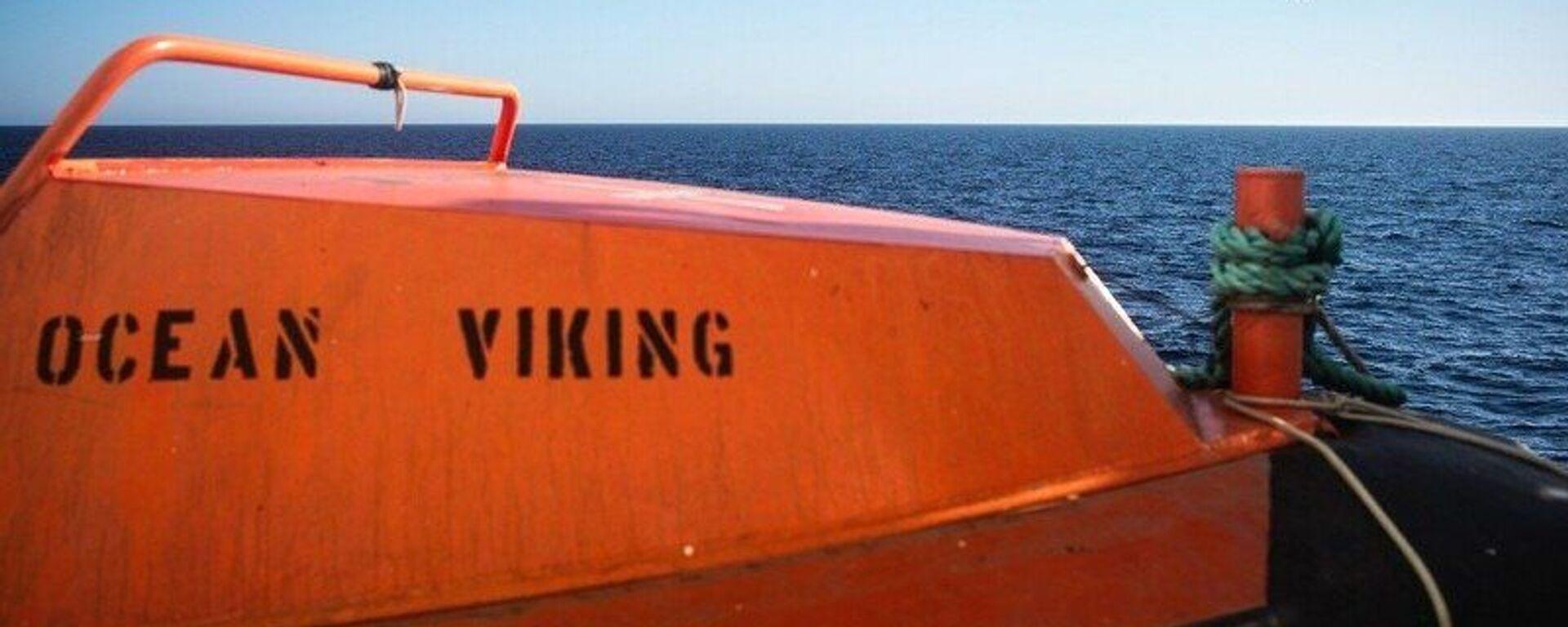 Nave Ocean Viking / Sos Mediterranée - Sputnik Italia, 1920, 09.07.2021