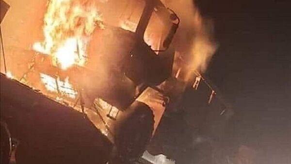 The US logistics convoy was stopped - Sputnik Italia
