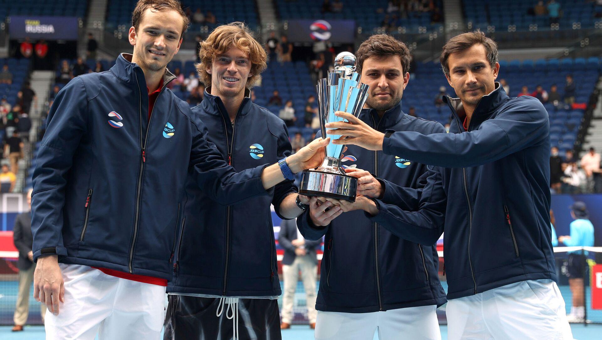 ATP Cup, l'Italia battuta in finale dalla Russia di Medvedev e Rublev - Sputnik Italia, 1920, 07.02.2021