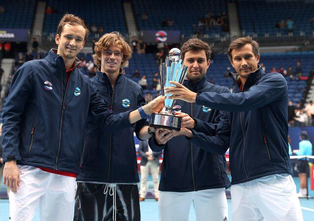 ATP Cup, l'Italia battuta in finale dalla Russia di Medvedev e Rublev