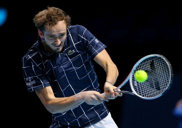 Daniil Medvedev, vincitore dell'ATP Cup di Melbourne
