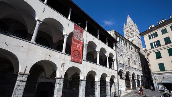 Edificio La Commenda di Pre a Genova che ospiterà il futuro museo dell'emigrazione italiana - Sputnik Italia