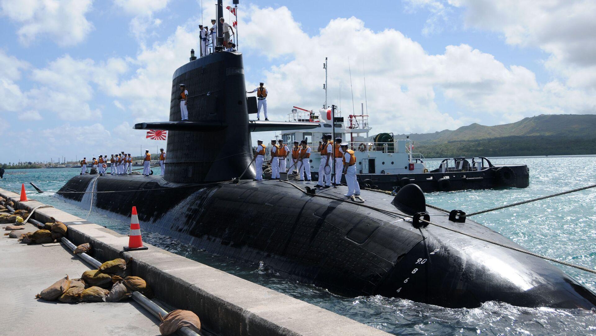 Giappone, sottomarino militare si scontra con nave mercantile, 3 feriti - Sputnik Italia, 1920, 08.02.2021
