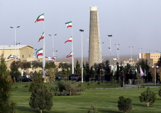 L'impianto di arricchimento dell'uranio di Natanz, Iran