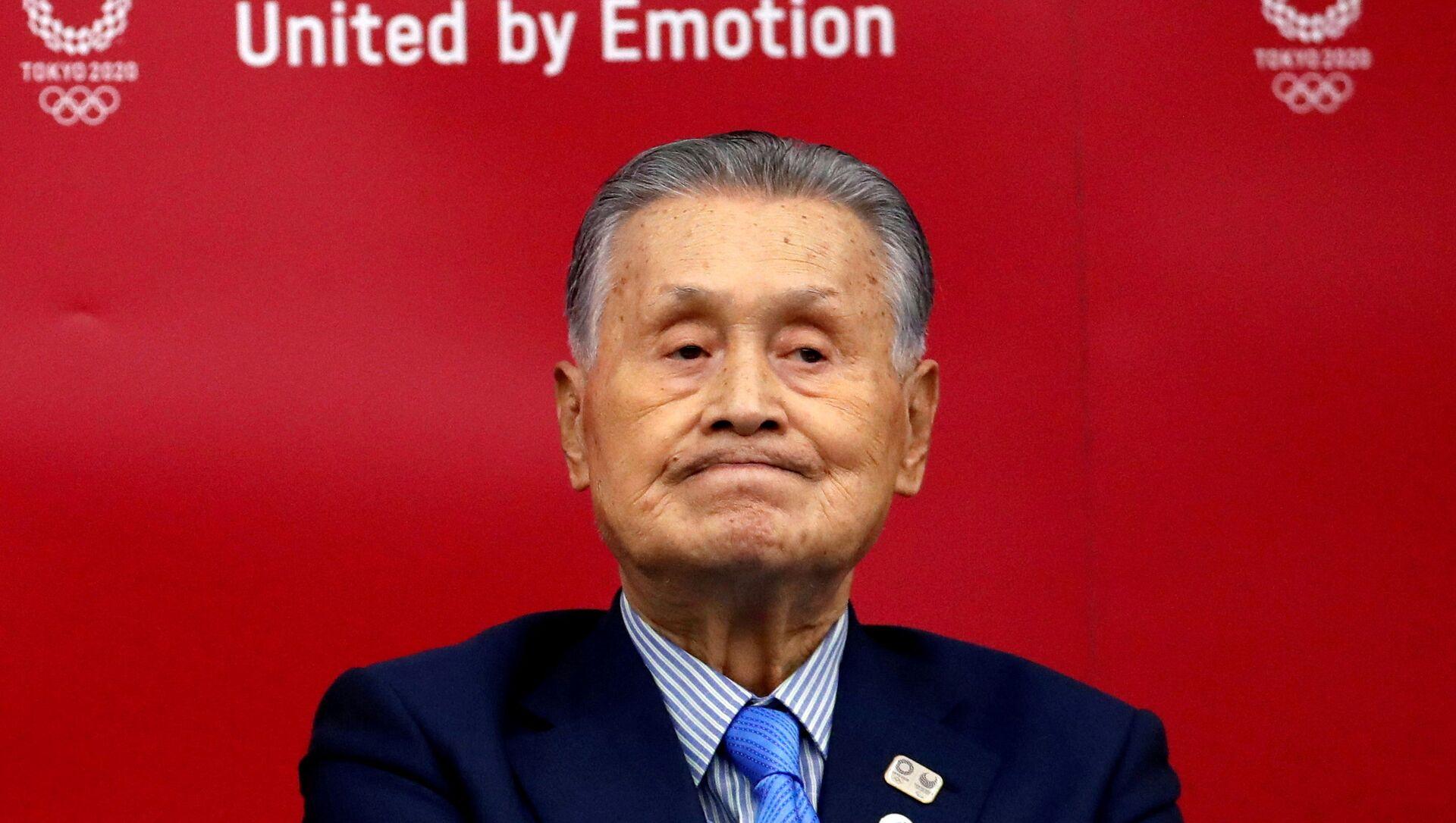 Yoshiro Mori, President del Comitato Olimpico giapponese responsabile per Tokyo 2020  - Sputnik Italia, 1920, 12.02.2021