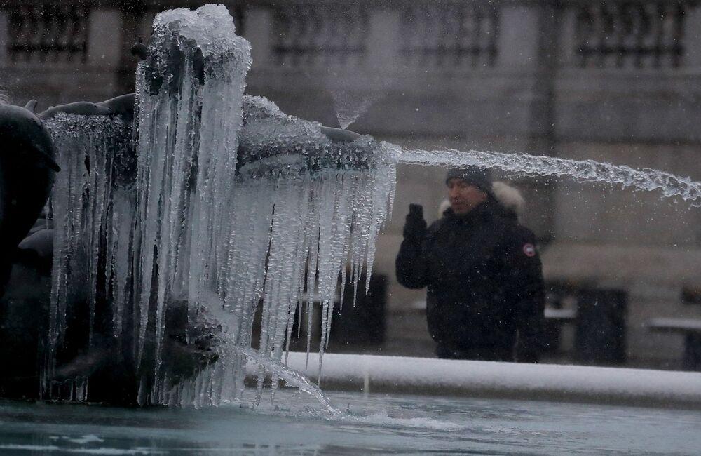 Da dieci anni non faceva così freddo nel Regno Unito