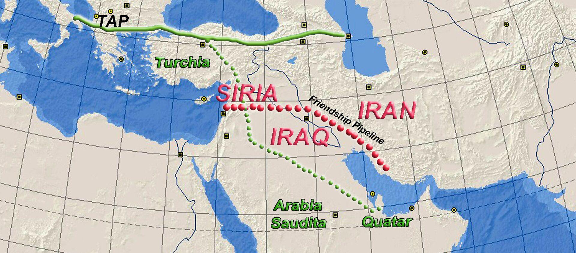 Progetto Friendship Pipeline, il gasdotto che vuole portare il gas iraniano fino in Europa - Sputnik Italia, 1920, 11.02.2021