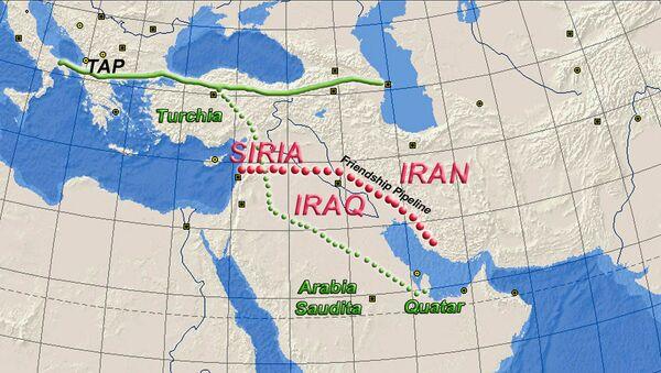 Progetto Friendship Pipeline, il gasdotto che vuole portare il gas iraniano fino in Europa - Sputnik Italia