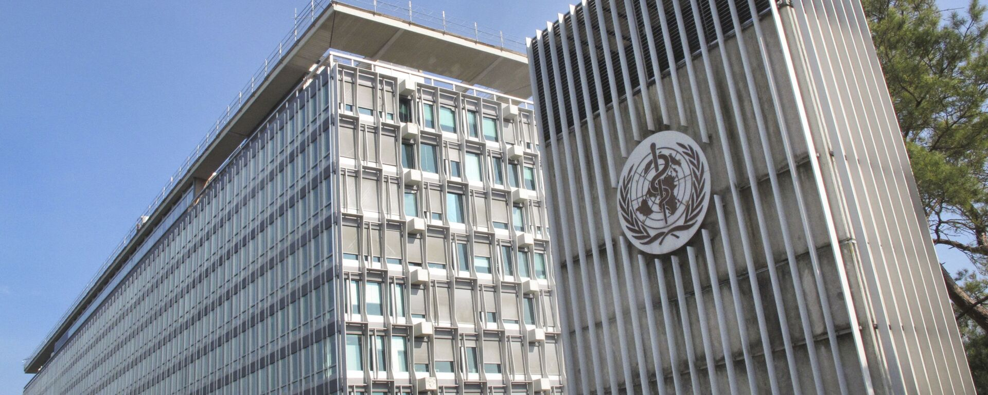 il quartier generale dell'OMS a Ginevra - Sputnik Italia, 1920, 01.06.2021