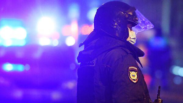 Un agente di polizia russa - Sputnik Italia