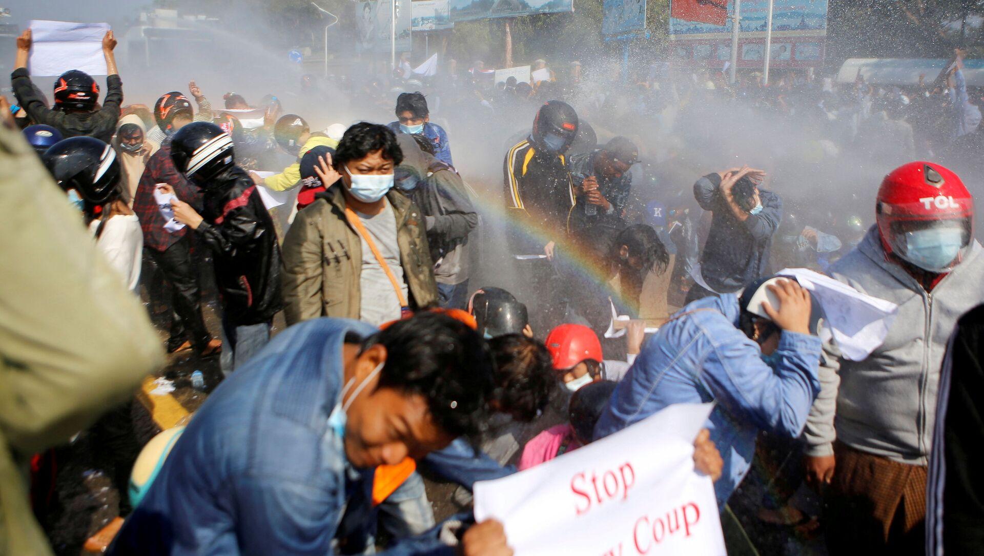 Proteste in Myanmar - Sputnik Italia, 1920, 07.03.2021