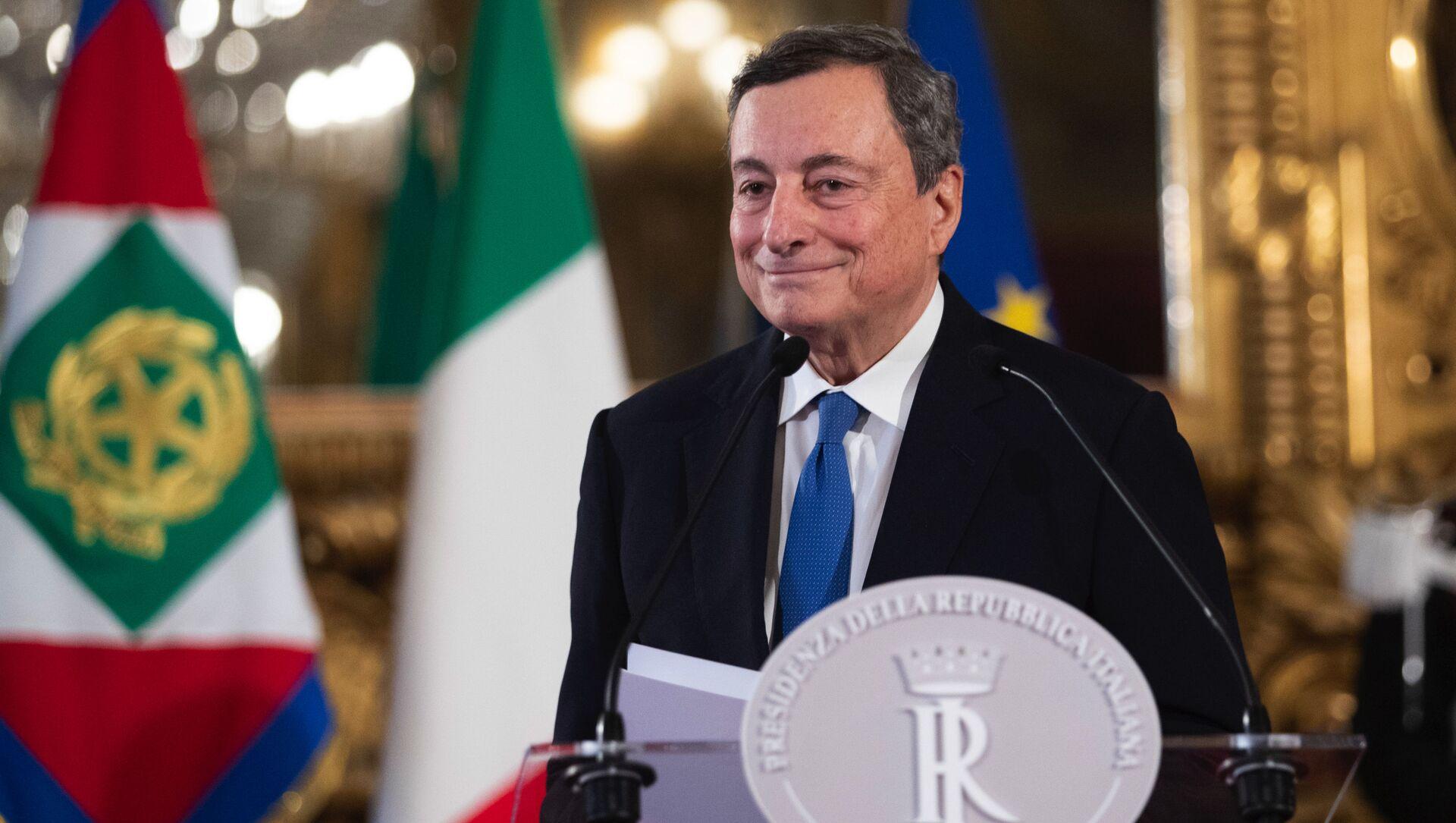 Mario Draghi - Sputnik Italia, 1920, 15.02.2021