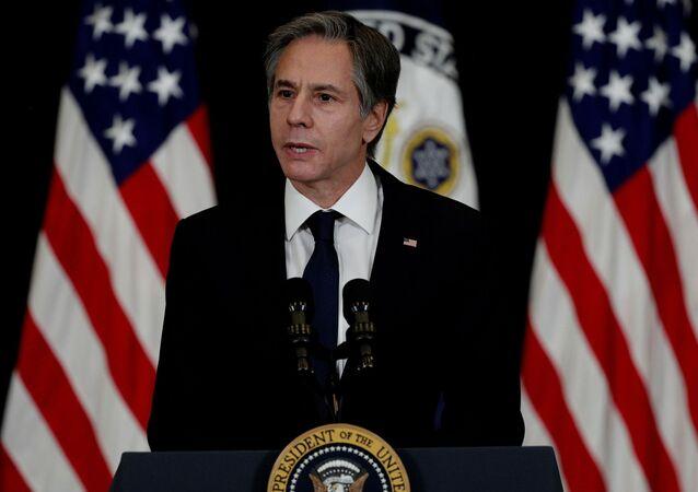 Il segretario di Stato americano Antony Blinken