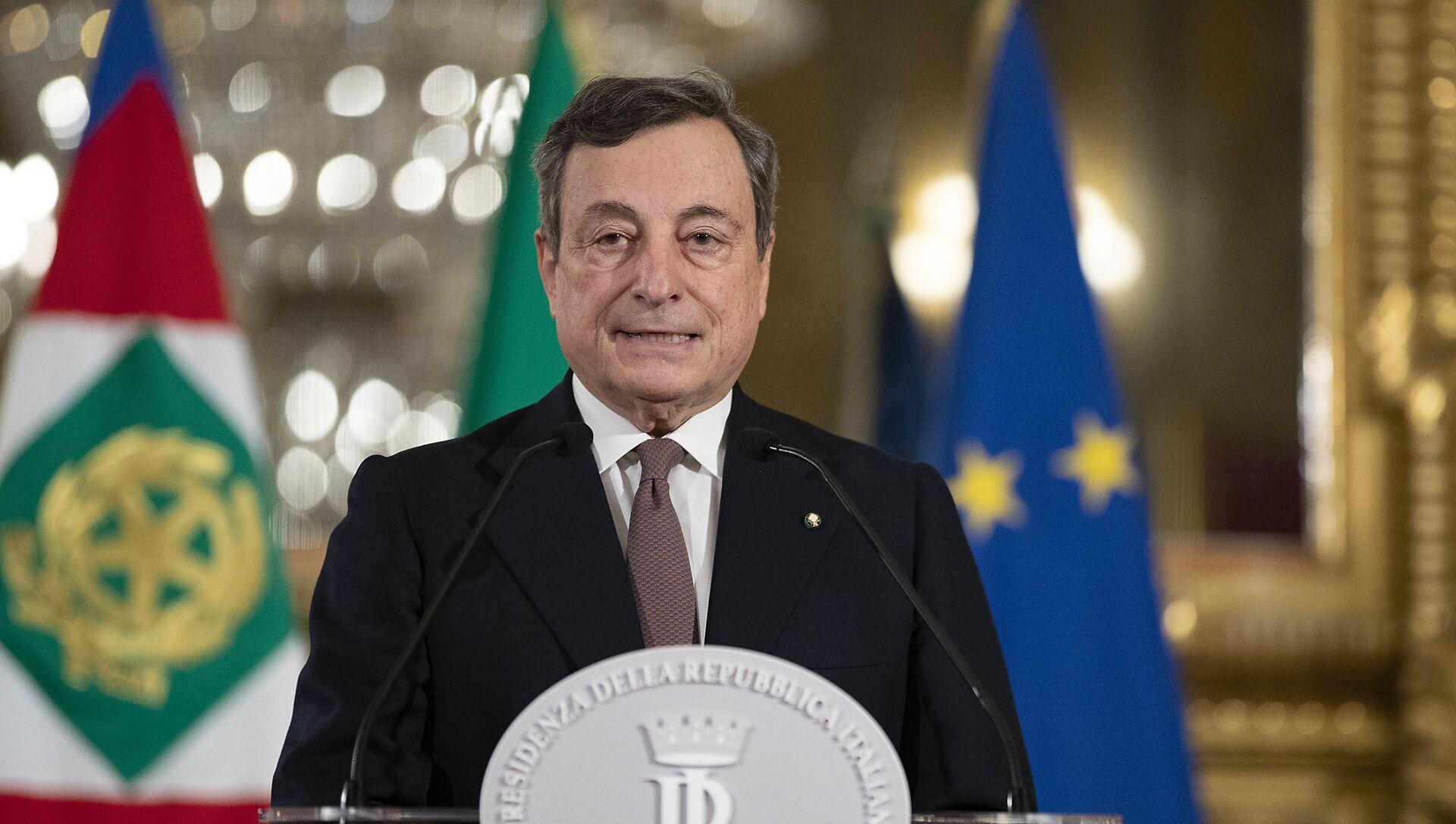 Mario Draghi annuncia la sua squadra dei ministri - Sputnik Italia, 1920, 14.02.2021