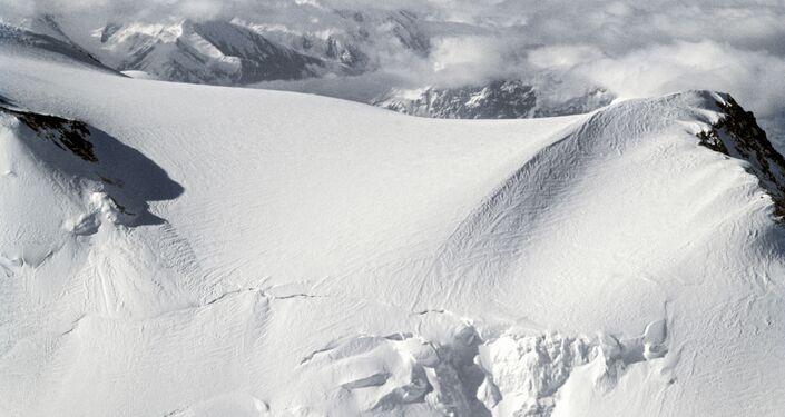 La vetta del Picco Lenin (7134 metri) - Pamir, Tagikistan