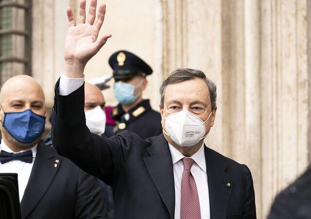 Mario Draghi (foto d'archivio)