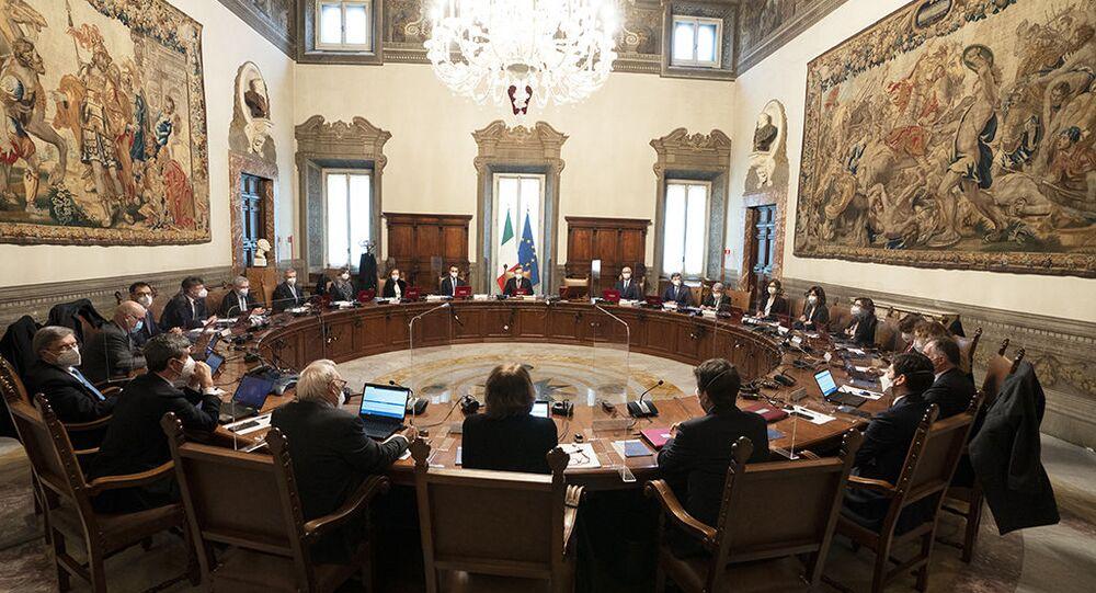 Primo Consiglio dei ministri del Governo Draghi