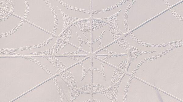 Il consulente informatico Janne Pyykko e un team di volontari hanno realizzato una singolare opera d'arte nella neve. Lo hanno fatto a Espoo, in Finlandia, utilizzando solo le impronte dei loro piedi e corde di varie lunghezze. - Sputnik Italia
