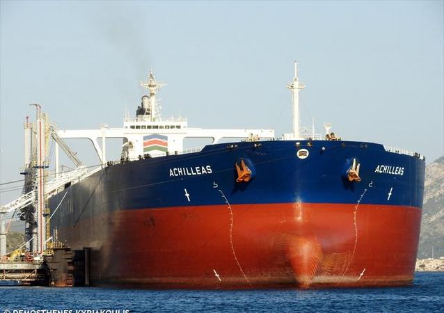 La nave Achilleas