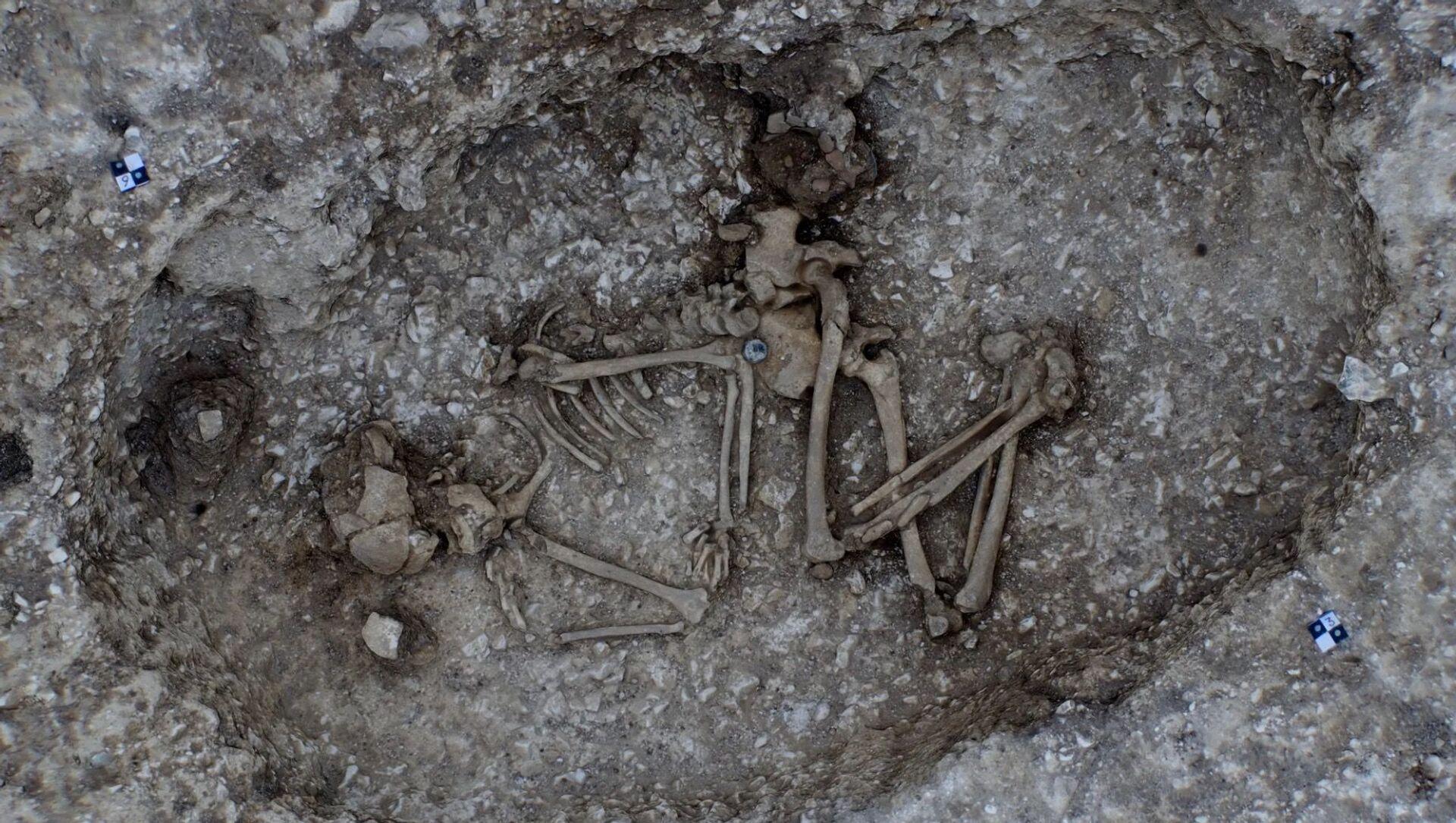 Presso Stonehenge trovato da archeologi misterioso oggetto cilindrico - Foto - Sputnik Italia, 1920, 17.02.2021