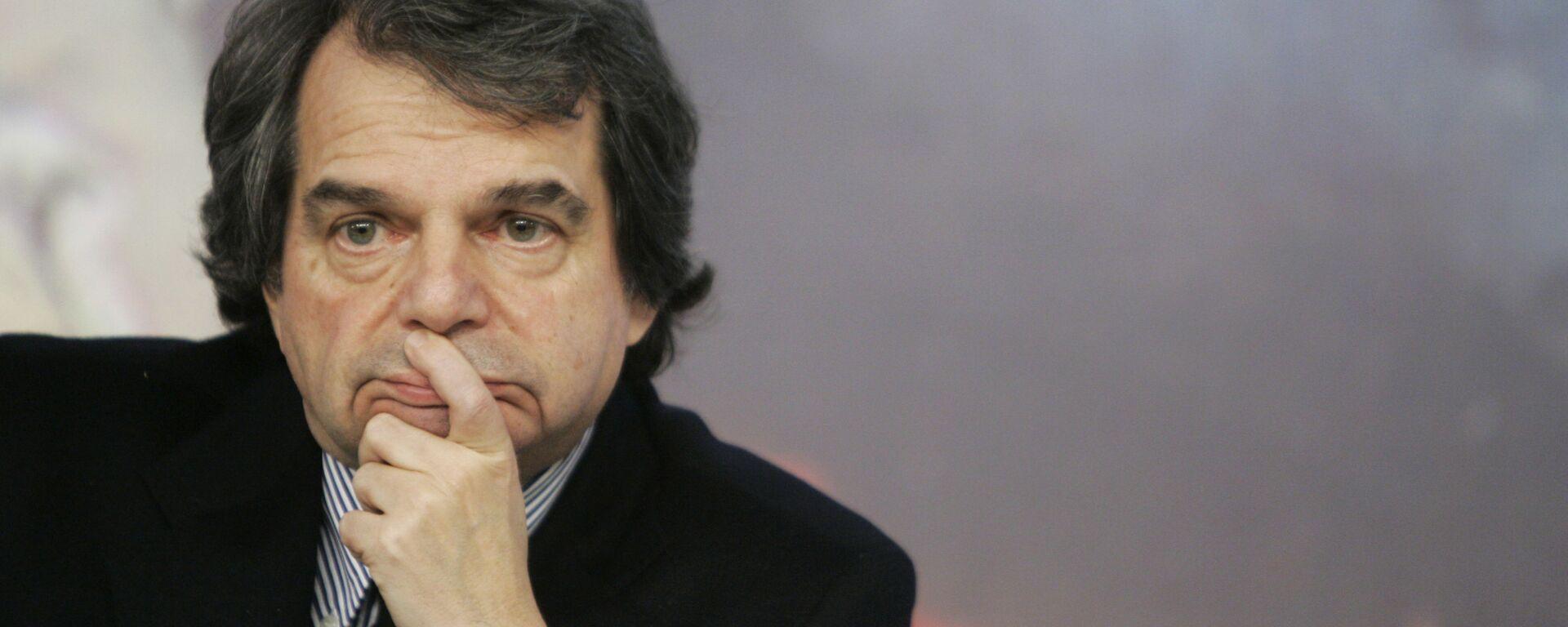 Ministro per la pubblica amministrazione nel governo Draghi, Renato Brunetta - Sputnik Italia, 1920, 30.05.2021