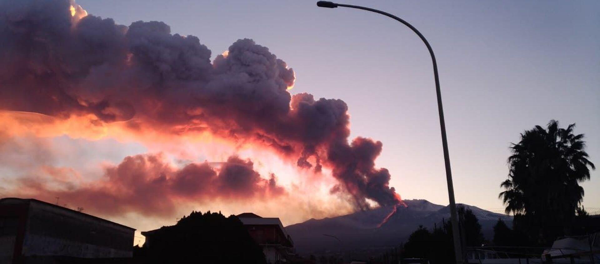 Eruzione Etna, il 16 febbraio  - Sputnik Italia, 1920, 24.03.2021
