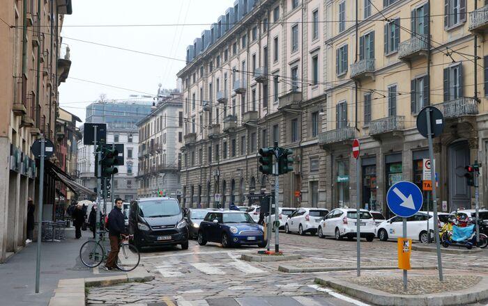 La situazione a Milano durante la pandemia del coronavirus, Italia