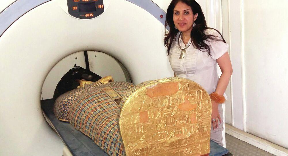 Tomografia computerizzata della mummia Seqenenra Ta'o