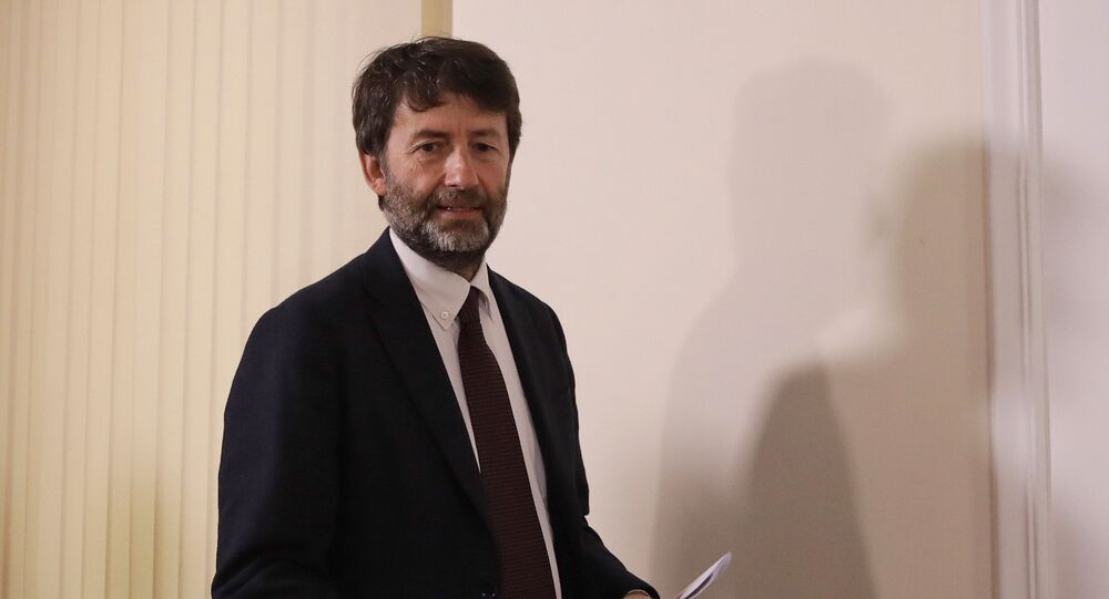 Dario Franceschini, Ministro per i beni e le attività culturali