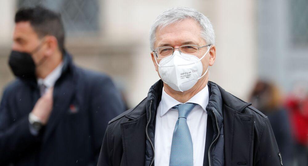 Daniele Franco, ministro dell'Economia