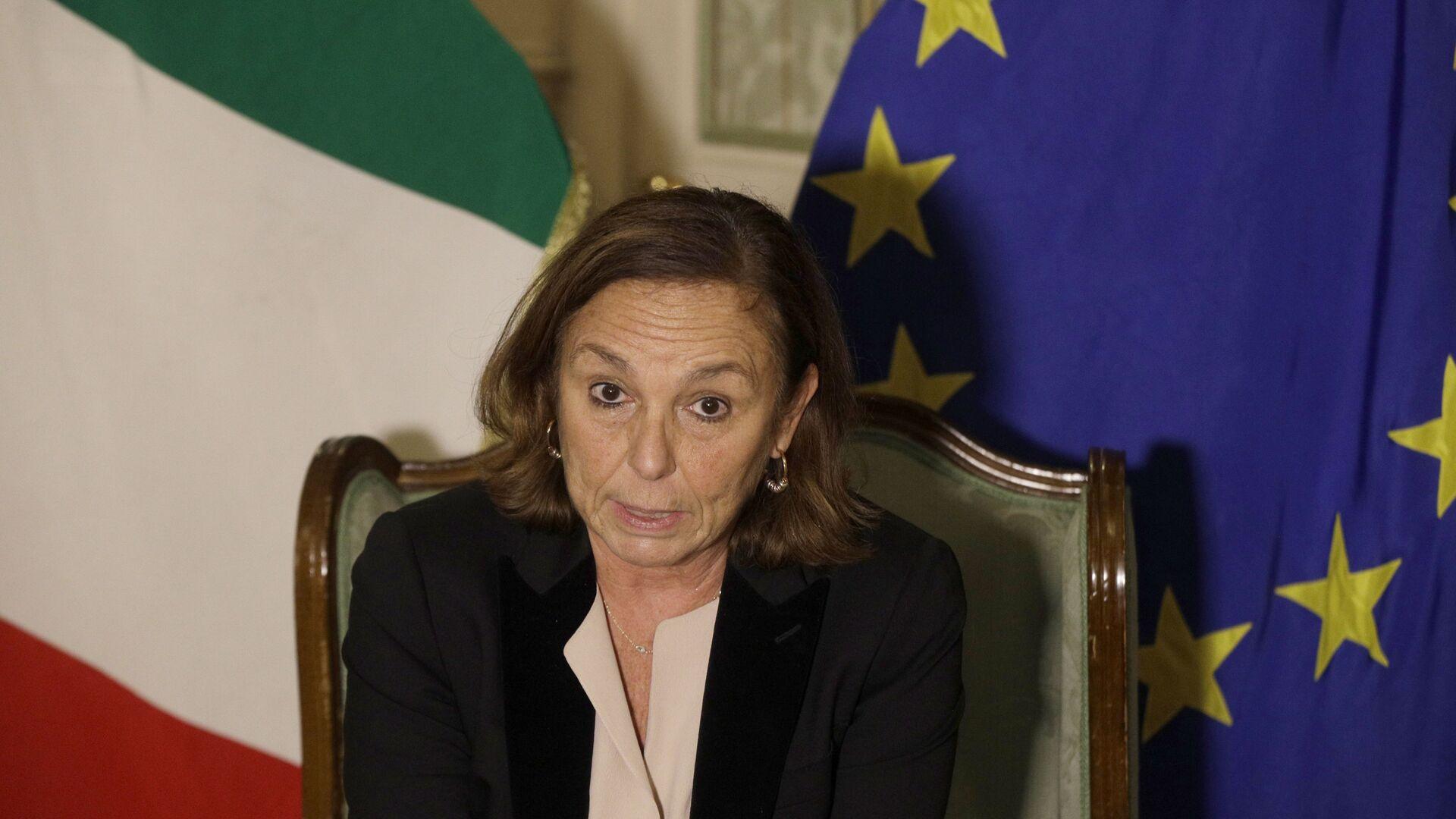 Luciana Lamorgese, ministra dell'Interno - Sputnik Italia, 1920, 15.08.2021