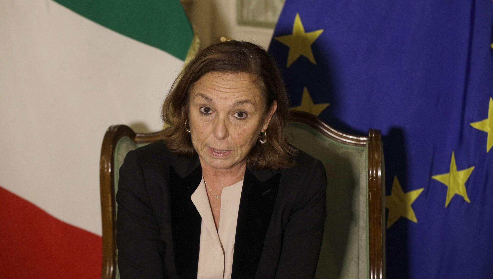 Luciana Lamorgese, ministra dell'Interno - Sputnik Italia, 1920, 28.04.2021