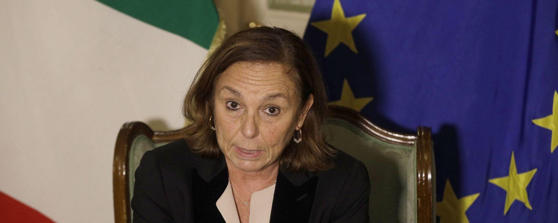 Luciana Lamorgese, ministra dell'Interno - Sputnik Italia, 1920, 16.08.2021