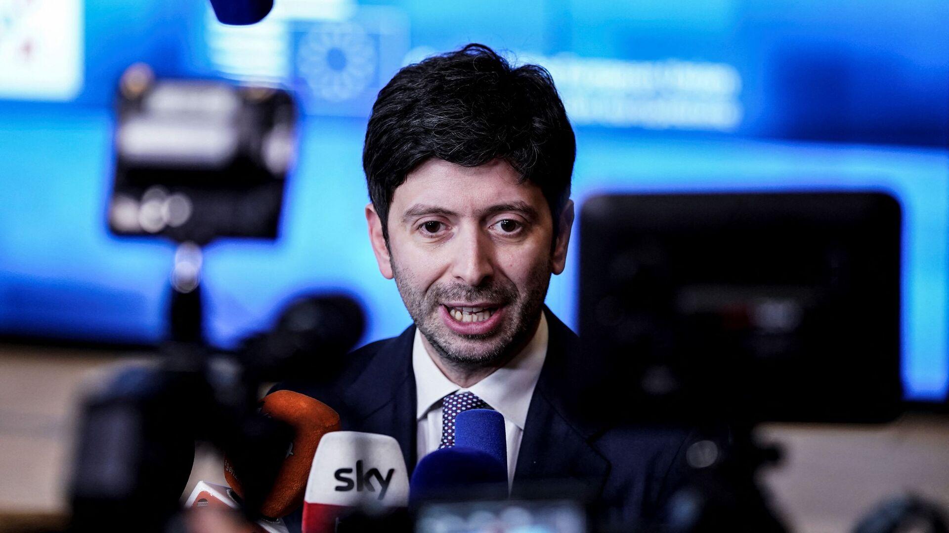Roberto Speranza, ministro della Salute - Sputnik Italia, 1920, 07.08.2021