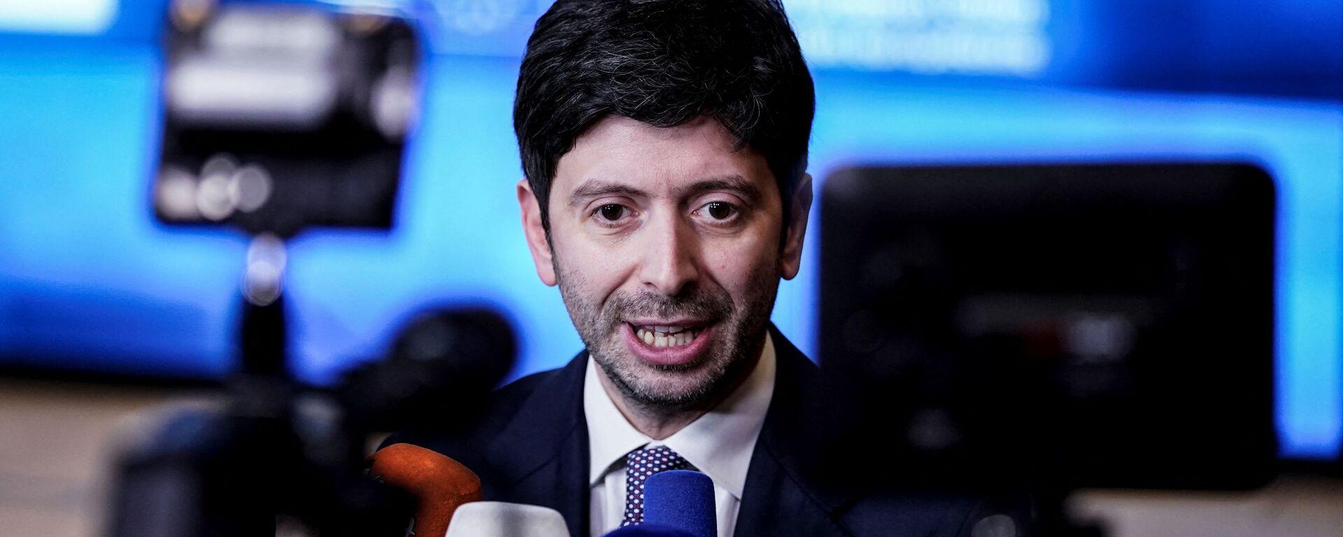 Roberto Speranza, ministro della Salute - Sputnik Italia, 1920, 04.07.2021