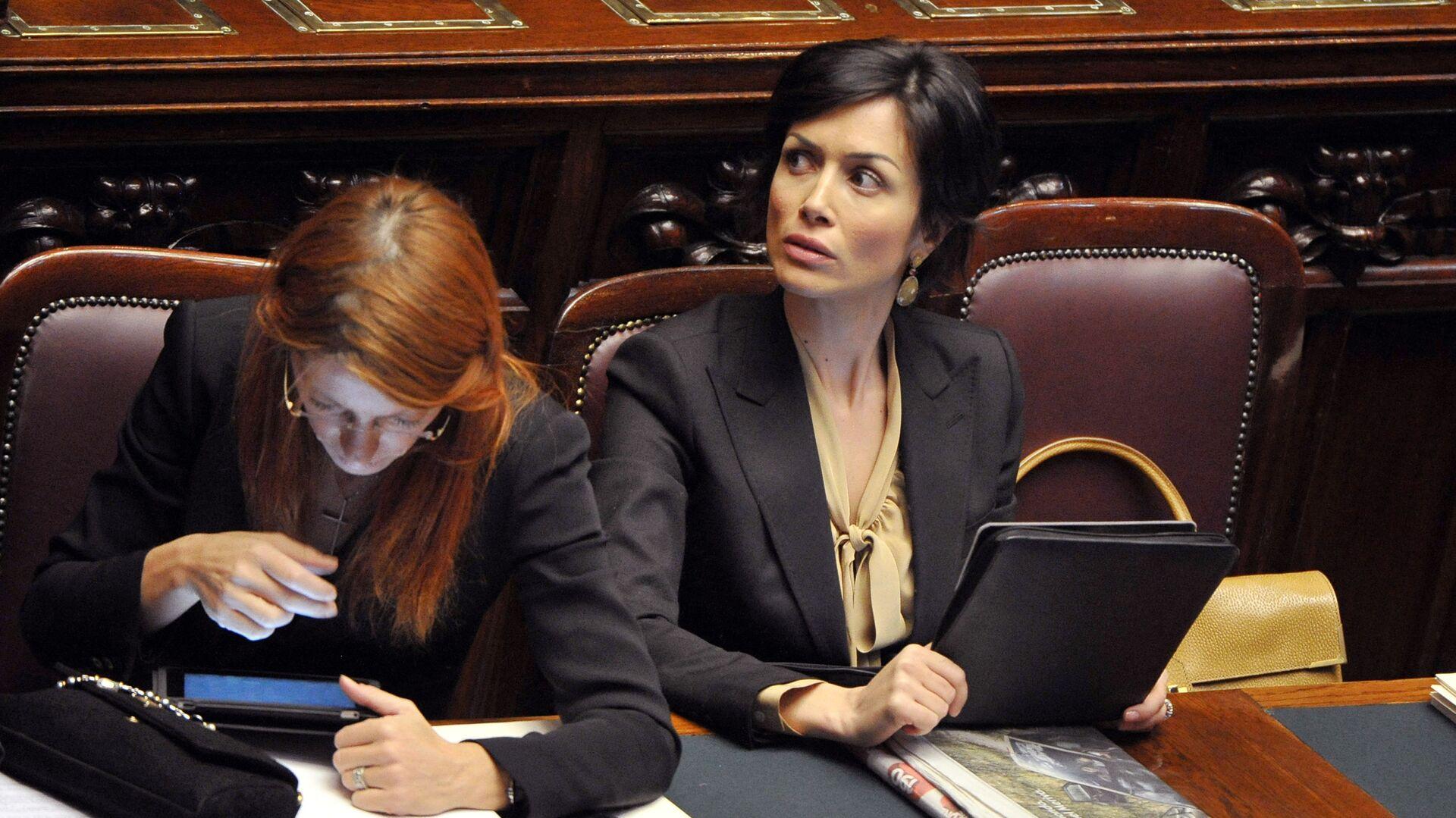 Mara Carfagna, Ministra per il Sud e la coesione territoriale - Sputnik Italia, 1920, 17.05.2021