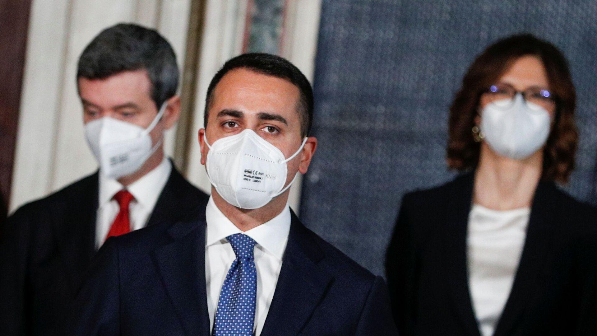 Luigi Di Maio, Ministro degli affari esteri e della cooperazione internazionale - Sputnik Italia, 1920, 03.09.2021