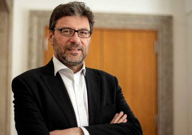 Giancarlo Giorgetti, nuovo Ministro dello Sviluppo Economico