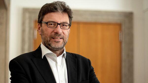 Giancarlo Giorgetti, nuovo Ministro dello Sviluppo Economico - Sputnik Italia