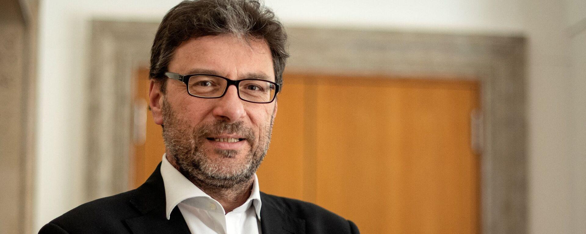Giancarlo Giorgetti, nuovo Ministro dello Sviluppo Economico - Sputnik Italia, 1920, 19.03.2021