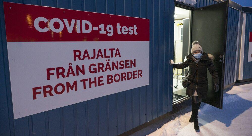 Un test anti-coronavirus in Finlandia