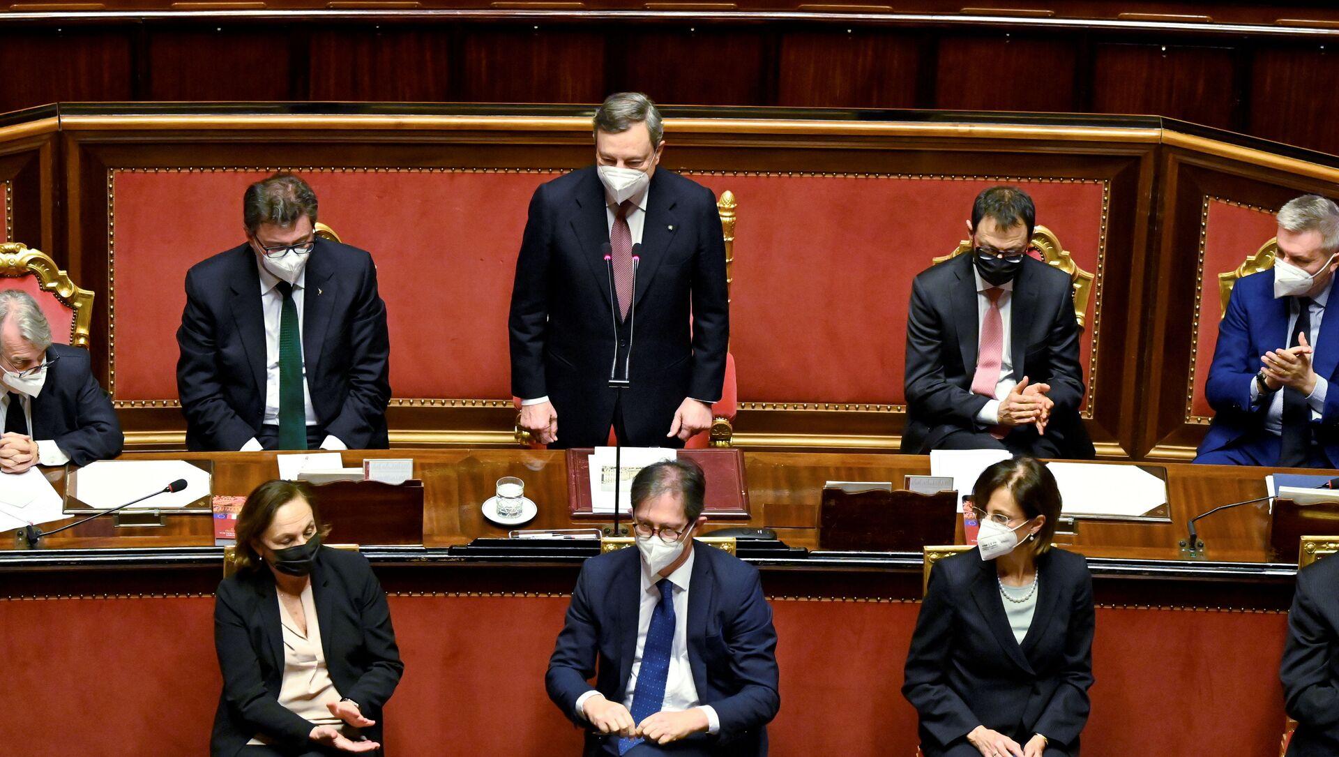 Letta, si usi governo Draghi per riforme: politica a occhi degli italiani è uno 'schifo' - Sputnik Italia, 1920, 25.02.2021
