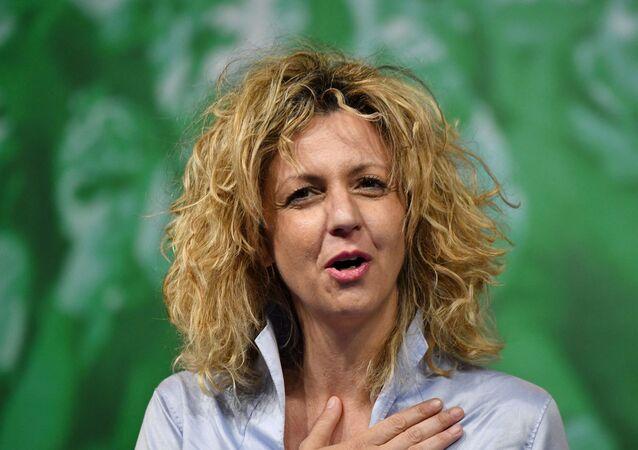 Barbara Lezzi, membro del Senato della Repubblica Italiana