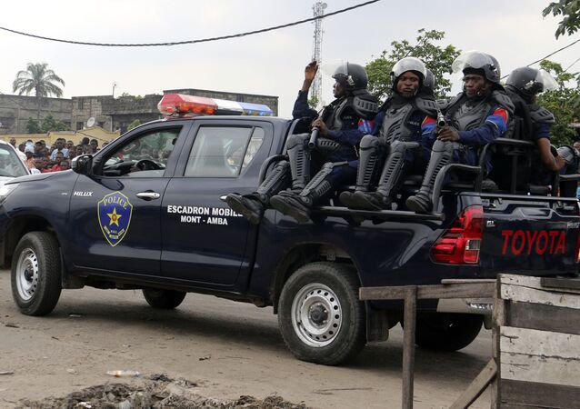 Congo polizia