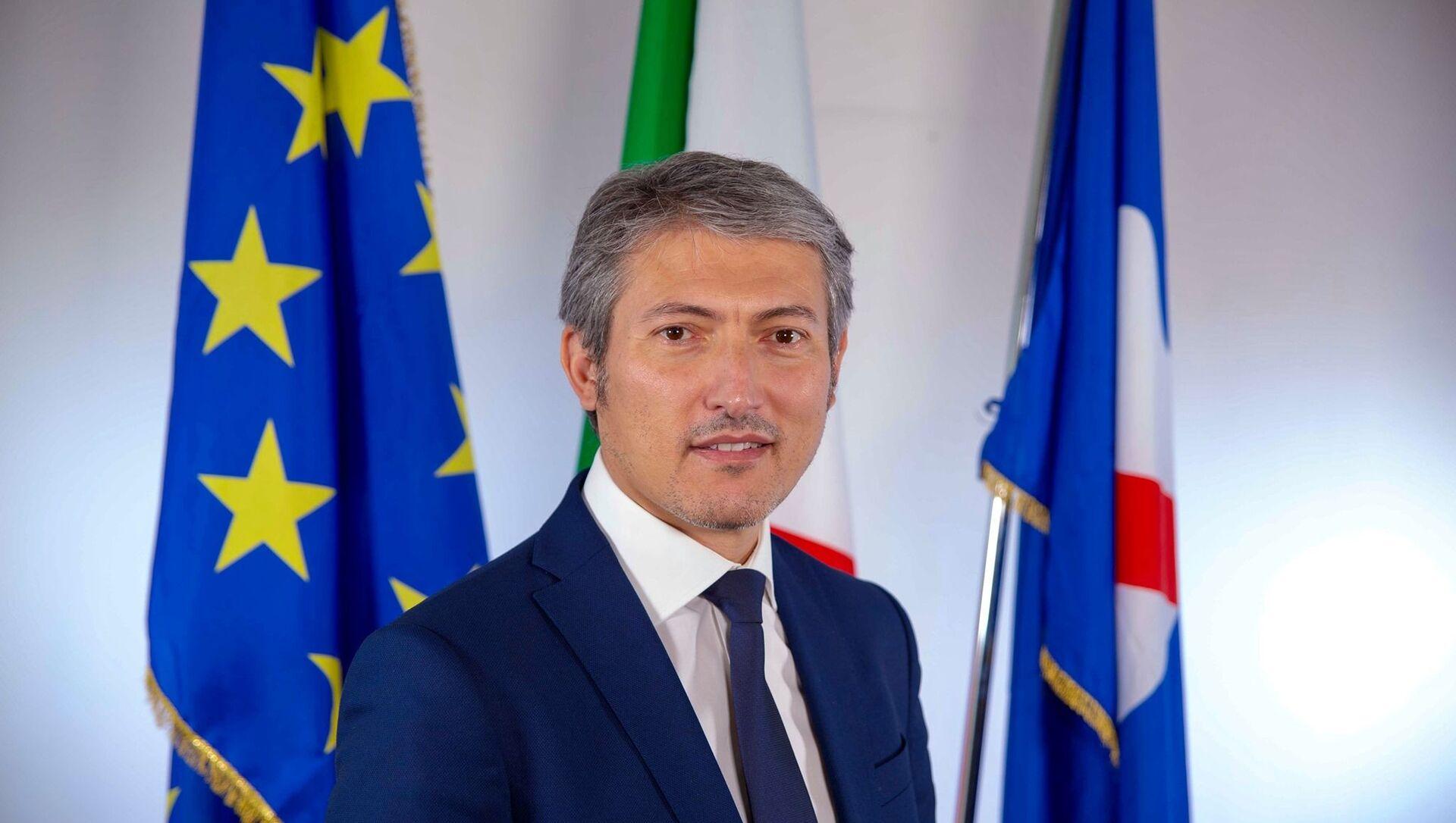 Tommaso Pellegrino, consigliere regionale della Campania - Sputnik Italia, 1920, 19.02.2021