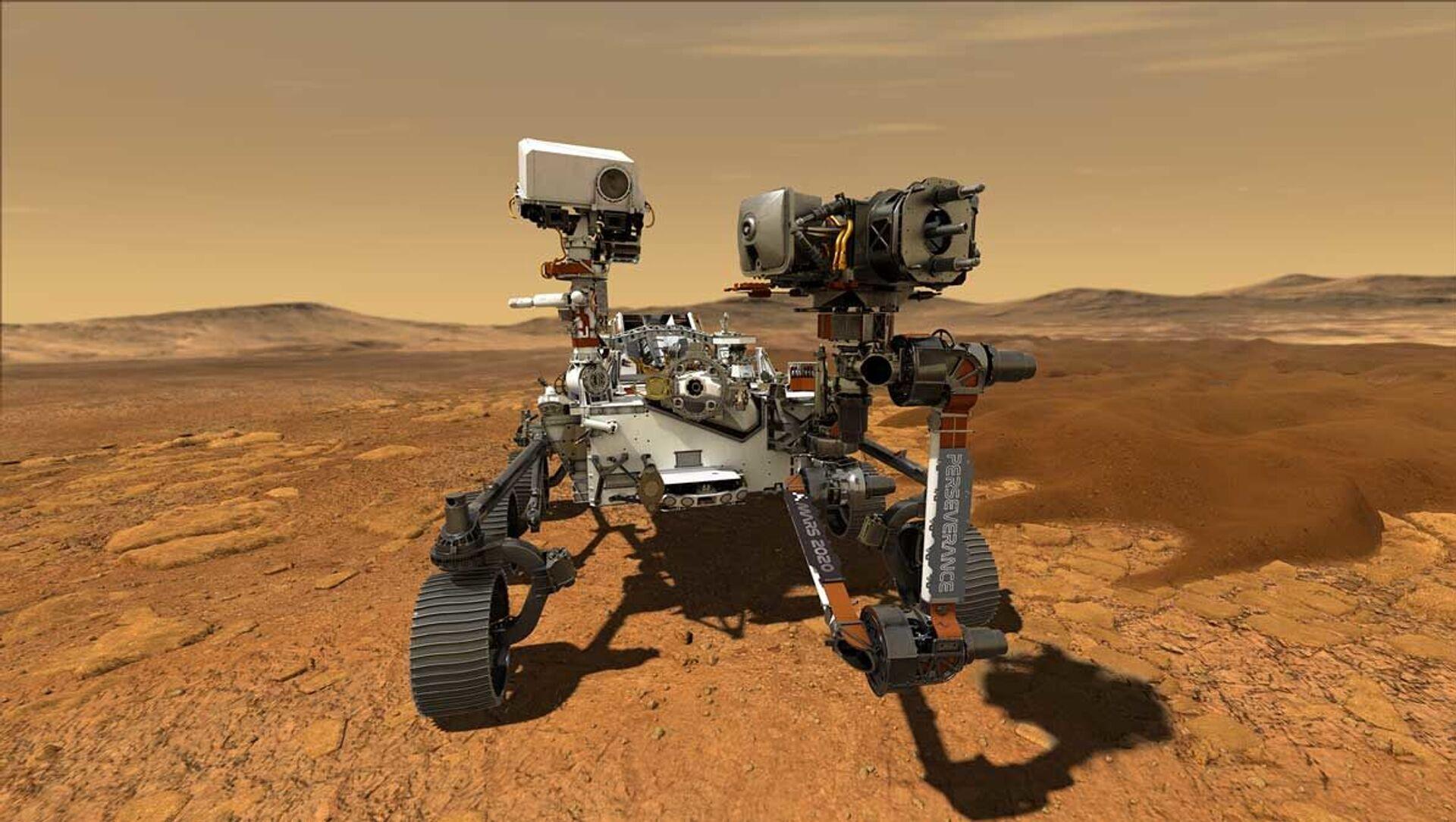 Il rover Perseverance su Marte - Sputnik Italia, 1920, 22.04.2021