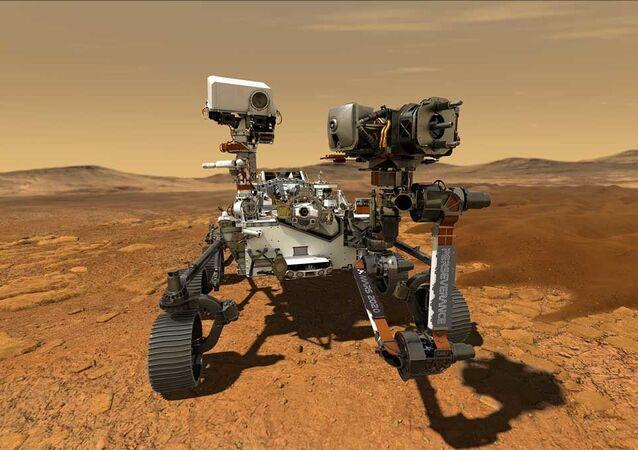 Il rover Perseverance su Marte