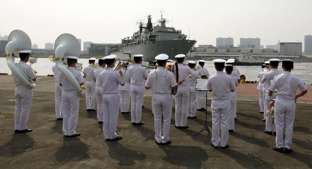 Marinai giapponesi (foto d'archivio)